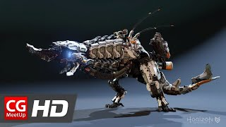 "CGI Animation Showreel ""Horizon Zero Dawn Animation Reel"" by Richard Oud"