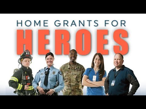 Home Grants for Heroes | Real Estate Insider
