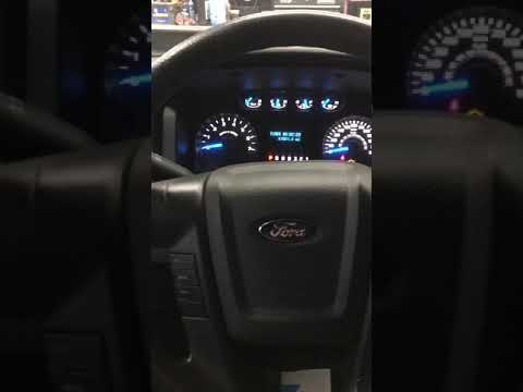 2014 Ford F150 How To Reset The Oil Change Service Maintenance Reminder