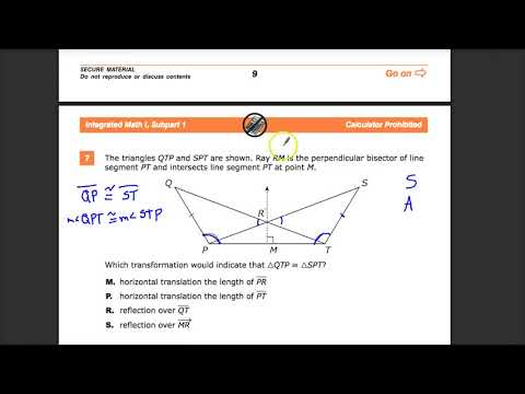 Question 7 -  Integrated Math 1 -  TNReady Practice Test