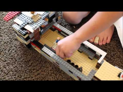 LEGO PIRATE SHIP - My Very First YouTube Video!