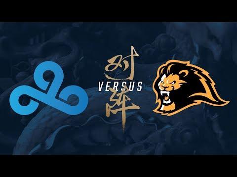 C9 vs. LYN | Play-In Elimination Game 2 | 2017 World Championship | Cloud9 vs. Lyon Gaming