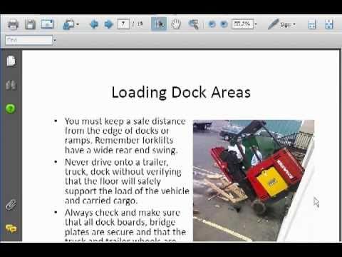 Forklift Certification Test - How Hard Is Forklift Certification?