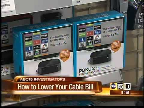 How to cut your cable bill in half