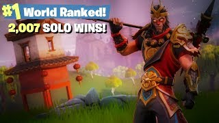 #1 World Ranked - 2,007 Solo wins!