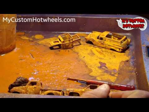 How to Rust Hot Wheels and Diecast Cars - Part 3: Final Touches