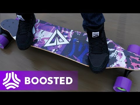 INSANE CUSTOM BOOSTED BOARD!!