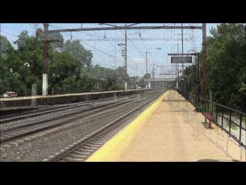 Fast Paced Railfanning In Odenton MD With ACS-64's, AEM-7's & A MARC GP40WH-2 6/18/2014