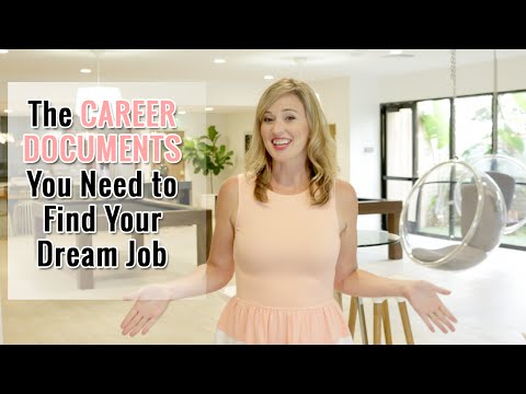 The Career Documents You Need to Find Your Dream Job