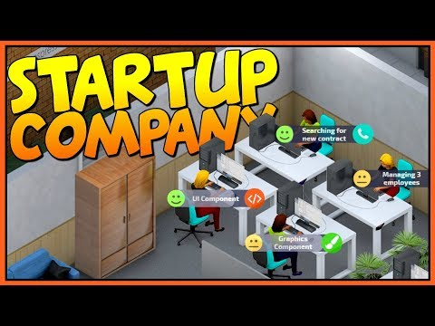 GETTING RICH BY RUNNING OUR OWN SOFTWARE COMPANY - Let's Play Startup Company Gameplay
