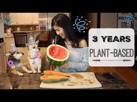 3 Year Veganiversary Fruit Feast Celebration!