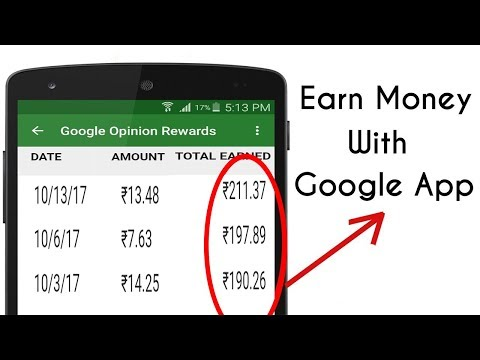 Earn Money With Google App In India