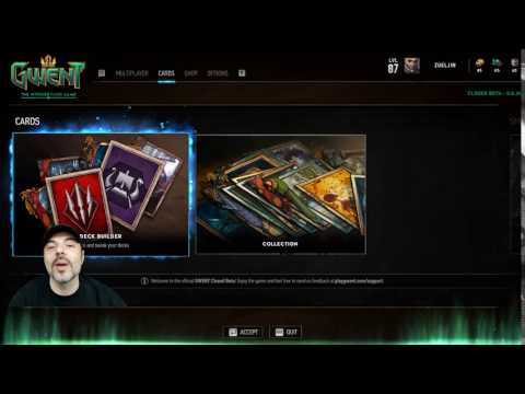 Now Over *** Streaming Gwent: The Witcher Card Game twitch.tv/zueljin