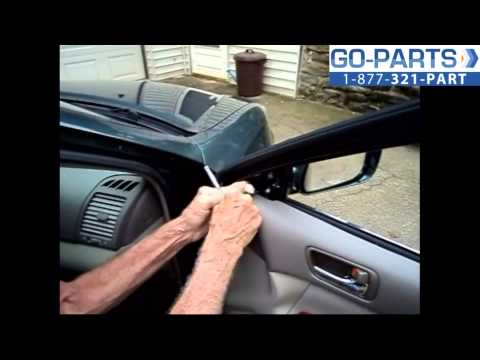 Replace 2002-2006 Toyota Camry Side Rear View Mirror , How to Change Install 2003 2004 2005