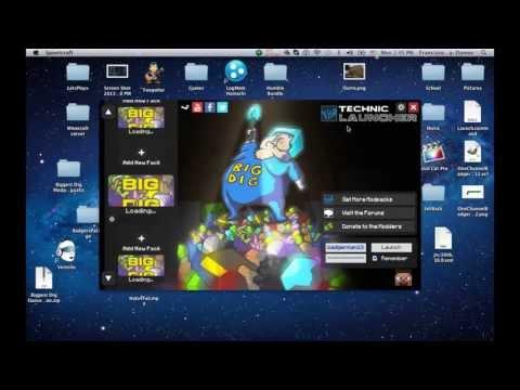 Technic Launcher Java 7 Fix on Mac
