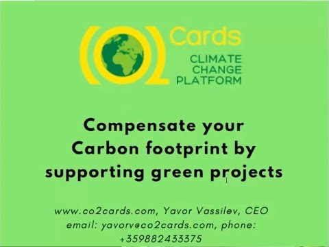 CO2 Cards - Working to Reduce Carbon Emissions