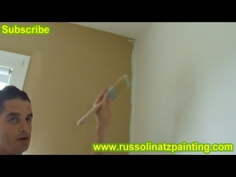 DIY Nursery Painting - Accent Wall & Horizontal Stripes (Part 6)