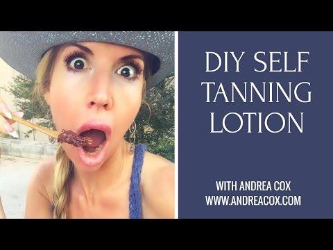 DIY Self Tanner Recipe - It Even Smells Good