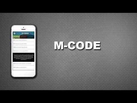 CNC Machinist Calculator - M-codes