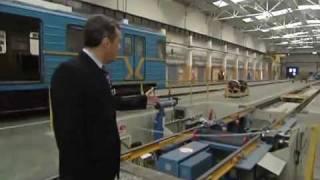 Выставка роботов в депо