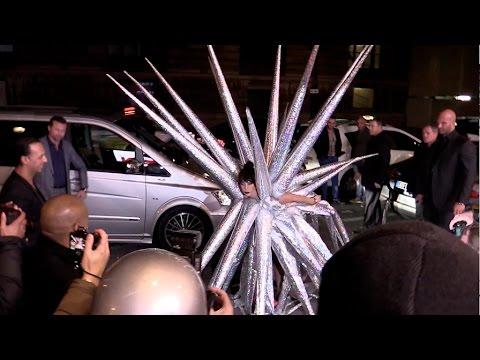 Lady Gaga MOST INCREDIBLE dress ever in Paris