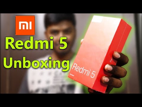 Redmi 5 India Unboxing & First Look | Retail Unit Initial impressions - in hindi
