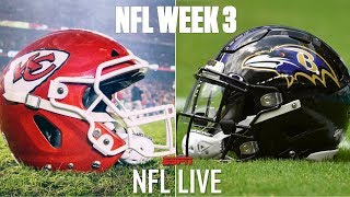 NFL Live predicts winners for 2019 Week 3 matchups | NFL Live