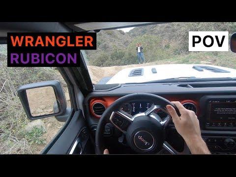 2018 Jeep Wrangler Rubicon Street + Off Road POV Drive