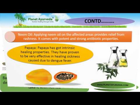 Dengue Fever - Home Remedies and Natural Treatment