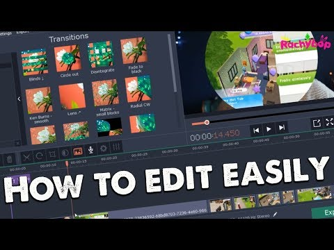 How to edit your videos QUICK+EASY with Movavi Video Editor!