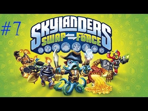 Let's Play Skylanders Swap Force - Episode 7 - Fishing With Candy!