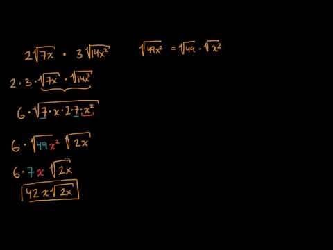 Simplifying square-root expressions   Mathematics I   High School Math   Khan Academy