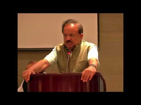 Dr Harsh Vardhan at the signing of Agreement between CSIR-CECRI and RAASHI Solar Power