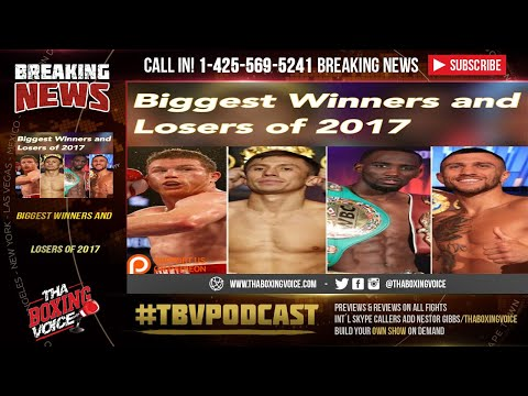 2017 Biggest Winners and Losers in Boxing, Whose Stock Rose or Fell?