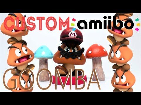 DIY Custom Amiibo Mario Odyssey Stacked Goomba