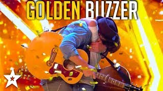 Father and Son Get GOLDEN BUZZER on Britain