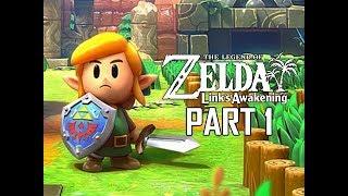 Download The Legend of Zelda Link's Awakening Remake Walkthrough Part 1 - Intro & First Dungeon!!! (Switch) Video