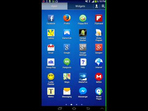 How to Root SAMSUNG galaxy TAB 3 without computer.