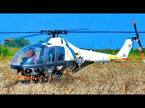AMAZING RC LOCKHEED XH-51 SCALE MODEL ELECTRIC HELICOPTER FLIGHT DEMONSTRATION