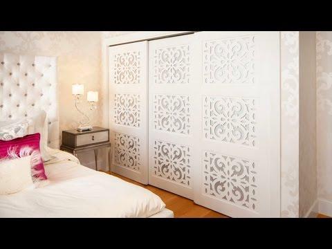 26 Stylish Closet Door Ideas - Bedroom Decorating Ideas