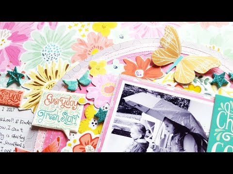 Scrapbooking Process** TURN THE PAGE collection** HIP KIT CLUB September 2017 kits