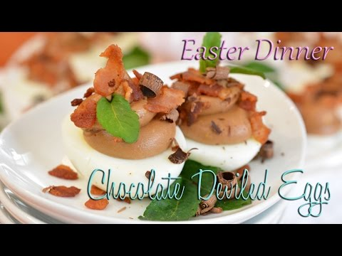 Chocolate Deviled Eggs | Easter Dessert