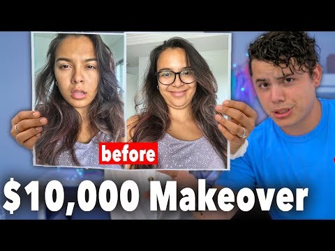 My Husband Gives Me A Makeover! ($10,000 dollars!)
