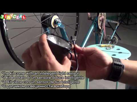 Guide For Bike SHIMANO Dynamo Generator Hub