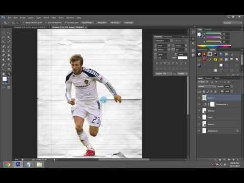 Football Poster Tutorial | Easy | Photoshop
