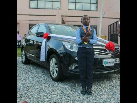 7YRS OLD BOY WINS FREE BRAND NEW CAR WITH LONGRICH GHANA; CALL/WHATSAPP +233200020192 FOR MORE INFO.