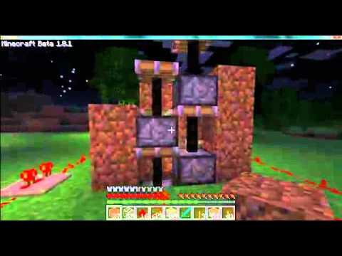 Minecraft's complex piston elevator tutorial