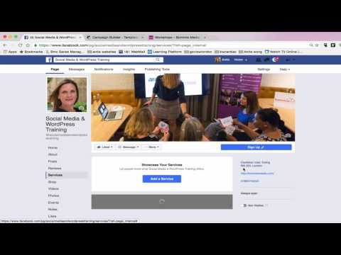 How to publish a service tab on your Facebook Business Page