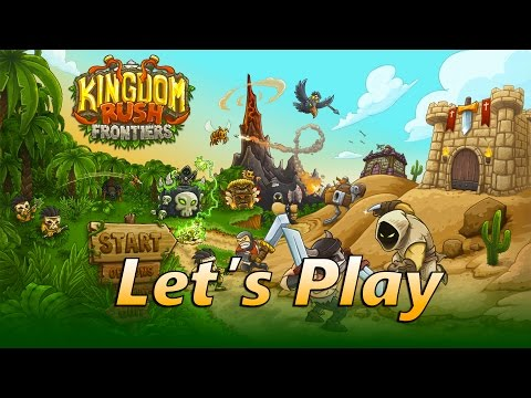 Kingdom Rush Frontiers Guide | Sandhawk Hamlet | Let's Play Episode 1