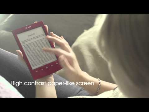 The new Reader PRST2 from Sony